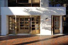 36 Ideas For Exterior Signage Shop Fronts Facades Shop Interior Design, Retail Design, Store Design, Cafe Exterior, Exterior Signage, Café Restaurant, Restaurant Design, Shop Front Design, House Design