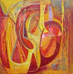 Ellen van Randeraat, songs of praise, 2013 Praise Songs, Abstract Art, Van, Painting, Color, Painting Art, Colour, Paintings, Vans