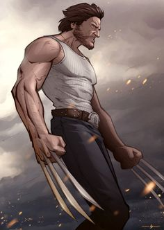 Wolverine (Hugh Jackman) is ready to bring the pain in Patrick Brown's new Marvel fan art illustration, Bub. Related Rampages: Grand Theft HALO | Infamous 2 (More) Wolverine by Patrick Brown (Facebook) (Twitter)