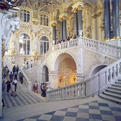 Hermitage again...columns were added later...still looks awesome.