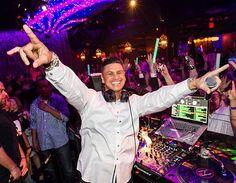 DJ Pauly D performed at Vanity Nightclub at Hard Rock Hotel & Casino in Las Vegas on New Years Eve, December 31, 2014