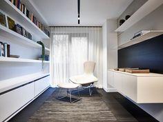 Moderne slaapkamer met vloerbedekking slaapkamer design