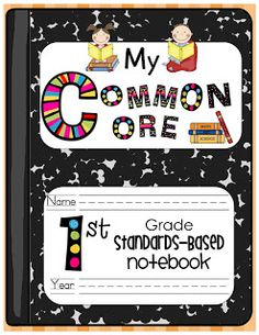 Sassy in Second: First Grade Common Core Notebook!