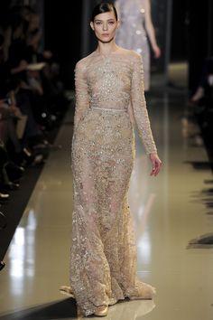 Eli Saab. Couture printemps-été 2013