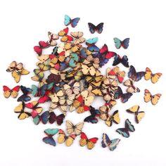 7 regalos creativos para almas Hand Made :) ¿Quieres verlos?  http://www.mbfestudio.com/2015/12/regalos-creativos-para-almas-hand-made.html #crafts #handmade #gift #regalo #artesania #troqueladora #mariposa #botones #madera