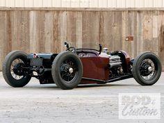 Hot Rod e Kustom: Dodge Roadster 1925, com motor Chevy 350 Small Block.