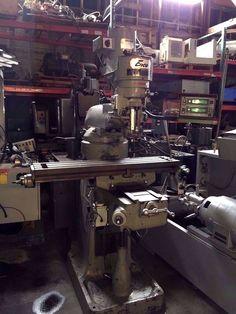 "ENCO 9""X42"" MILLING MACHINE / 2HP MOTOR / 2 AXIS MITUTOYO DRO & SCALES  #ENCO"