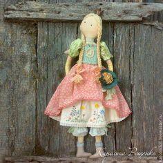 Ароматизированные куклы ручной работы. Летняя принцесса. Каролина Рощенко. Ярмарка Мастеров. Лето, дачный декор, текстиль
