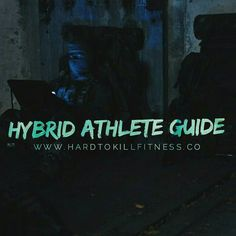 If you haven't got on this yet get over to the site now and get some FREE 7 day Hybrid Athlete Guide. _______ This is a 7 day plan that you will recieve In your email. Included in the plan is 7 days of Training aimed at building a body that looks as good as it performs. along with daily motivation and Mindset insights. Even if the workout isn't for you you will gain new ideas and learn new tips that you can take away. _______ NOTE: This plan is designed so that almost anyone can perform it…