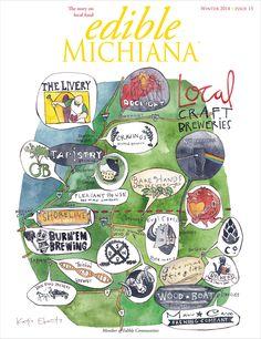 Winter 2014 Cover - Please vote for our local Edible Michiana!!