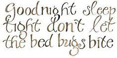 #goodnight.....I tell Raymond that every night