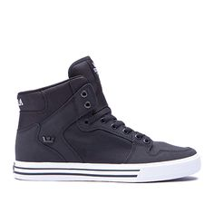 SUPRA Footwear™ | Official Store | VAIDER | BLACK - WHITE