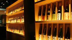 炉端のぬる燗 佐藤 @中目黒 -全国47都道府県の日本酒+旬のお酒で常備80種 Restaurant Design, Lighting Design, Wine Rack, I Shop, Japan, Bottle, Home Decor, Light Design, Bottle Rack