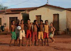 meninos do futebol