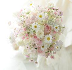 ブーケ 府中教会様へ ひと時という永劫を : 一会 ウエディングの花