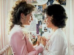 """Steel Magnolias""  ""My colors are blush and bashful, mama!  Pink is my signature color."""