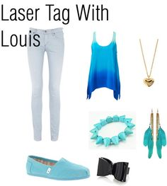 One Direction Outfit it says louis luv him