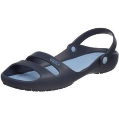 navy -- maybe the only pair of Crocs I've ever been interested in!
