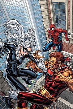 Spider Man zwarte kat Sex