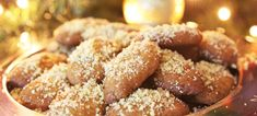 Here is a recipe for melomacarona, an egg-shaped Greek Christmas cookie in honey syrup. Greek Desserts, Greek Recipes, Pastry Recipes, Dessert Recipes, Greek Christmas, Sample Recipe, Chicken Souvlaki, Whole Roasted Chicken, Christmas Biscuits