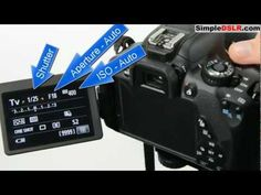 GREAT VIDEO:  Exposure Triangle ▶ How to Use a DSLR Camera: Learn DSLR Camera Basics Shutter Aperture ISO - YouTube