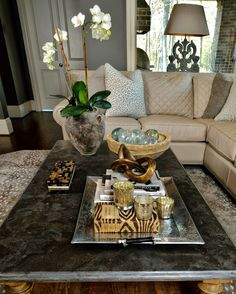 How To Style Your Coffee Table — An Interior Designer Reveals Her Best Tips & Tricks! — DESIGNED w/ Carla Aston