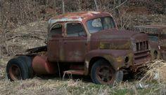 Old International Harvester R Series truck