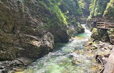 Vintgar Gorge Lake Bled Slovenia