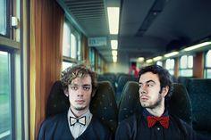 Great Idea for Band photo..... Stranger Project by Benoit Paillé, via Behance