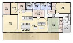 House Plans, Floor Plans, House Design, Flooring, Architecture, Interior, Life, Arquitetura, Design Interiors