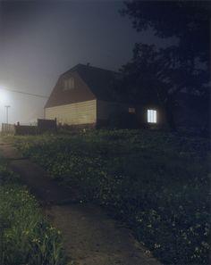 Todd Hido. 'Houses at night'
