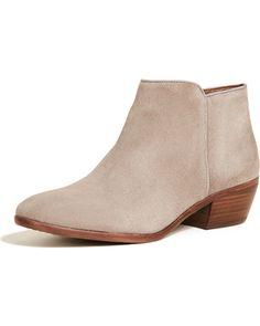 547dbf11c Sam Edelman Petty Boots - Suede Tan 5.5M