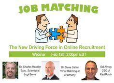 Job Matching: the New Driving Force in Online Recruitment [Webinar]
