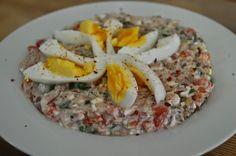 Jurnal de Dieta: Salata de ton Dukan Cobb Salad, Food, Green, Salads, Essen, Meals, Yemek, Eten