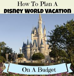 Disney Vacation on a Budget