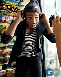 Michael B. Jordan - GQ Men of the Year 2013 - Breakout