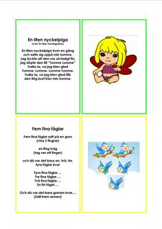 Mariaslekrum Learn Swedish, Swedish Language, Preschool, Education, Learning, Kids, Musik, Pictures, Young Children