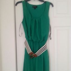 Green BCX dress size XL Green BCX size XL worn once. BCX Dresses