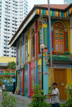 The Tan Teng Niah House, Little India, Singapore