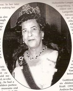Princess Margarita out lived her husband by decades, and died in 1981. The ruby tiara by Bolin went up for auction at Christie's in 1989.