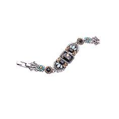 Antique Silver Color Geometric Resin Bracelet Women Fashion Costume Multicolor Bracelet 2016 Hot Sale #Affiliate
