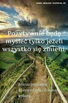 Miłego dnia Self Development, Personal Development, Everything And Nothing, Positive Motivation, Positive Mind, How I Feel, Good To Know, Favorite Quotes, Quotations