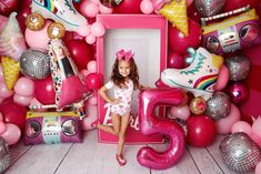 Barbie Theme Party, Barbie Birthday Party, Birthday Party Decorations Diy, Doll Party, Kids Party Themes, Birthday Party Themes, Girl Birthday, Birthday Ideas, Birthday Centerpieces