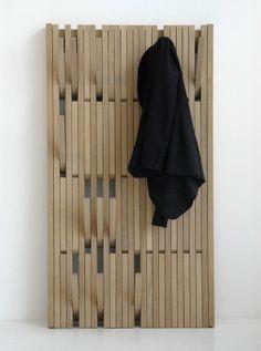 超好看的隱形系統掛衣牆 - piano