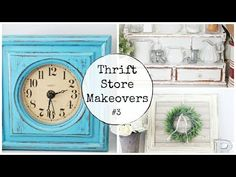 Thrift Store Makeovers | #3 - YouTube