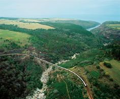 The train crossing Storms River.