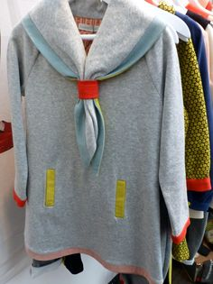 Interesting girl guide style dress at Raspberry Plum for fall 2014 kids fashion