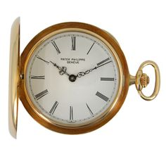 Patek Philippe Yellow Gold Hunting Case Pocket Watch$10,000.00