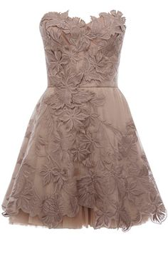 Romantic embroidered dress. With cowboy boots for a reception or after party!