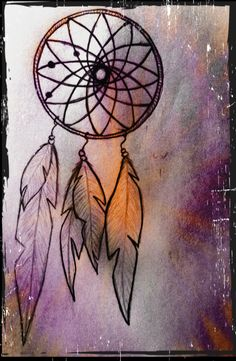 once upon a time.. this dreamcatcher was a tattoo idea.. well that dream crashed and burned, ha